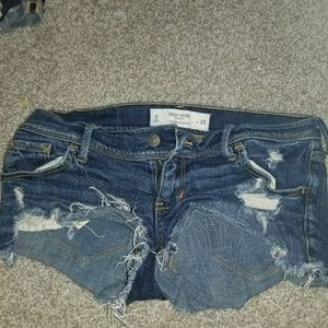 Gilly hicks jean shorts